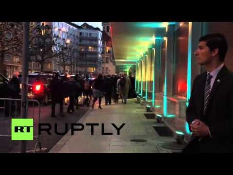 Switzerland: Kerry arrives to Geneva for urgent Syria talks
