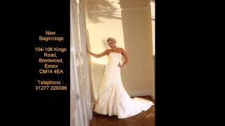 New Beginnings in Brentwood - wedding dresses