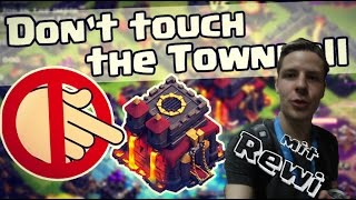 Clash Challenge★5 LAVAHUNDE + 60 Minions!★DON'T TOUCH THE TOWNHALL★Clash of Clans
