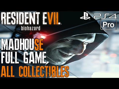 Resident Evil 7 - Gameplay Walkthrough MADHOUSE FULL GAME (All Antique Coins) Platinium Trophy 100%