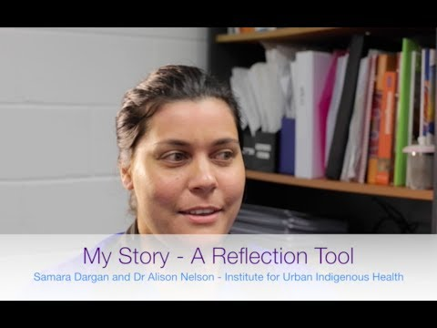 'My Story' - a reflection tool for students within an Indigenous health context