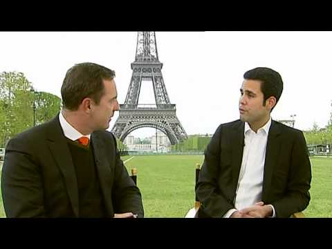 Fabrice Seiman - BLOOMBERG TV - French Presidential Elections 2012.