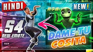 💃*Dame Tu Cosita* in PUBG MOBILE   Season 4 NEW DANCE 💃EMOTES   NoobTheDude PUBG