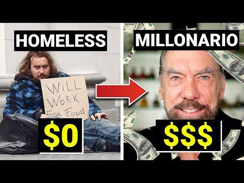 De Homeless a Millonario Vendiendo Champús y Tequila | La historia de John Paul DeJoria