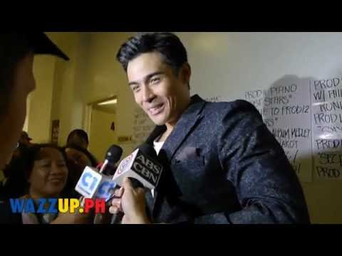 Backstage Interview with Xian Lim   The Kiss with Kim Chiu
