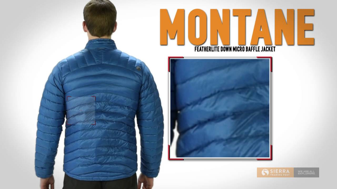 Montane Featherlite Micro Down Jacket - 750 Fill Power (For Men ...