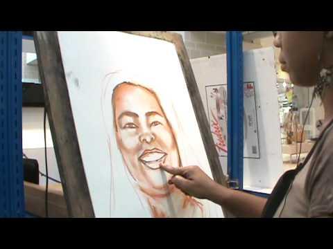 Artistic Rootz Self Portrait Live in Color, for more art log on to www.artisticoortz.com