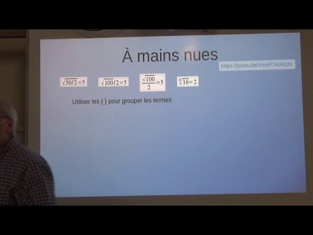 LibreOffice Math III