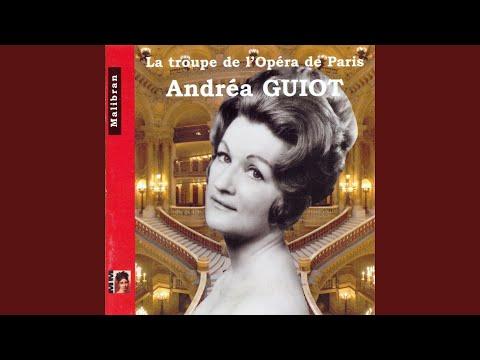 """Les Contes D'Hoffmann, Act III: Air. """"Elle A Fui La Tourterelle"""" (Antonia)"""
