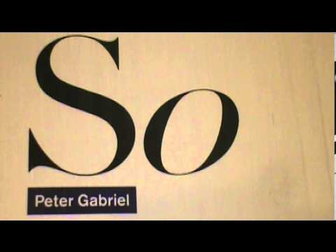 Peter Gabriel - Don't Give Up (vinyl rip)