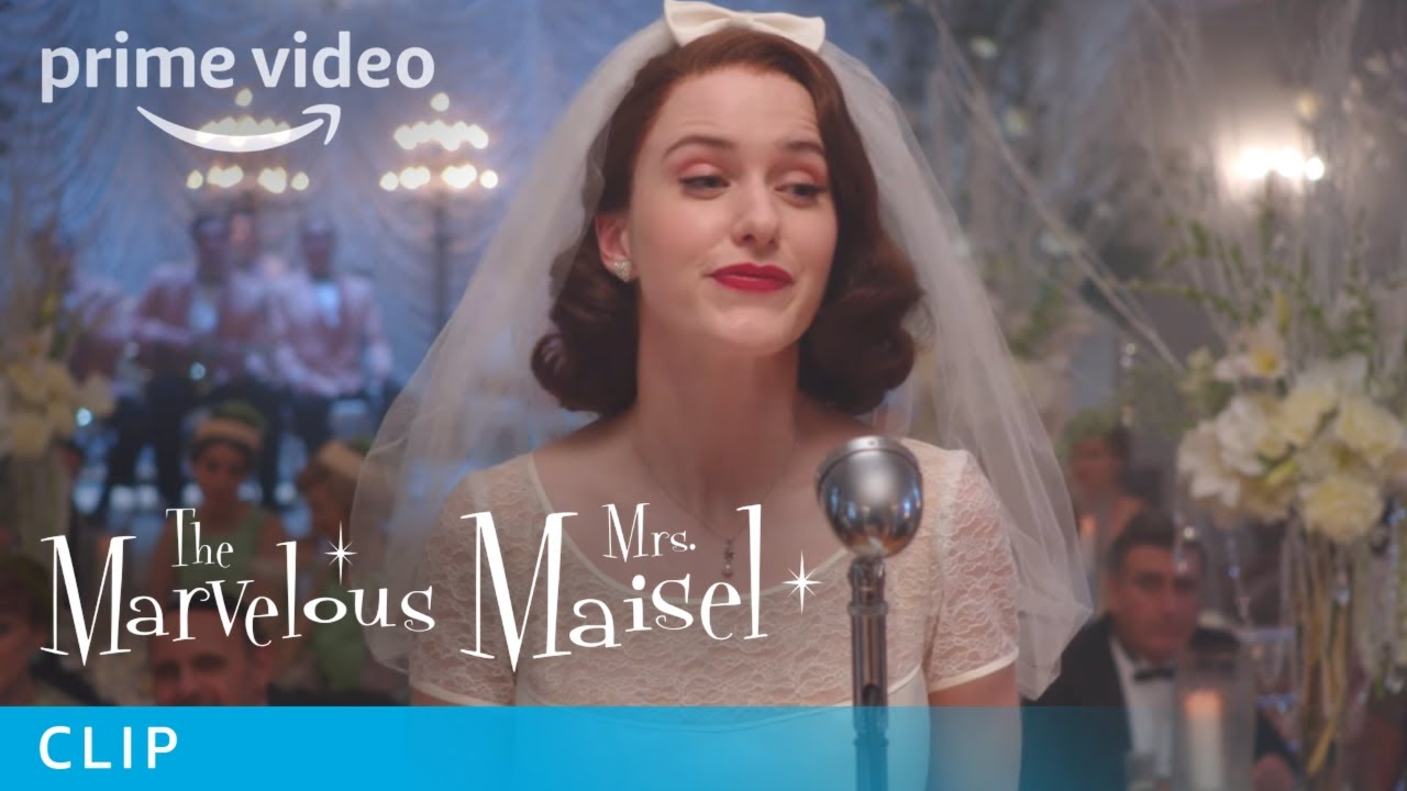 The Marvelous Mrs  Maisel Season 1 - Clip: Wedding | Prime Video