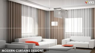 Latest Modern Curtains Designs Ideas| Bedroom Window Curtains | Living Room Curtains Designs