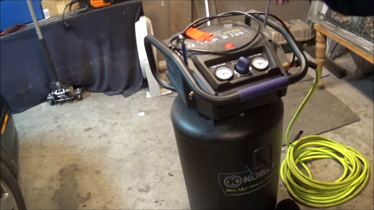 maxresdefault kobalt 20 gallon stand up air compressor review youtube kobalt 80 gallon air compressor wiring diagram at bayanpartner.co