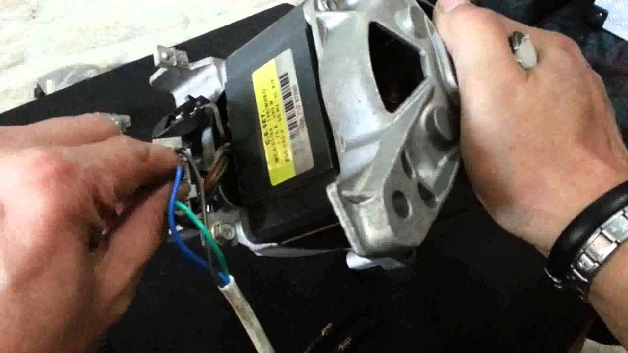 5 wire electric motor wiring como conectar un    motor    de lavadora de 7 cables youtube  como conectar un    motor    de lavadora de 7 cables youtube