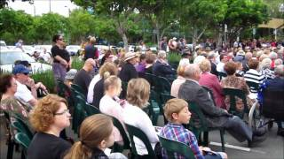 Anzac Day Flypast & Service, Chermside, 25 April 2011