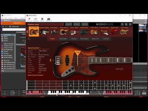MODO BASS 🎸 by IK Multimedia ◻ The BIG Soundtest & Tutorial