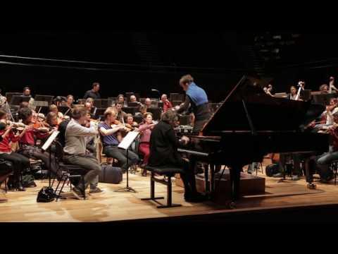 Beethoven - Concerto pour piano n° 5 - Elisabeth Leonskaja / Cornelius Meister (répétition)
