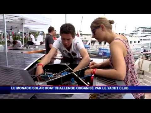 Première édition du Monaco Solar Boat Challenge