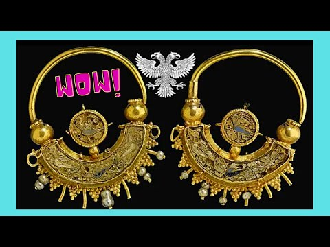 BRITISH MUSEUM, beautiful ancient GREEK jewelry from 300BC to 100BC (LONDON)
