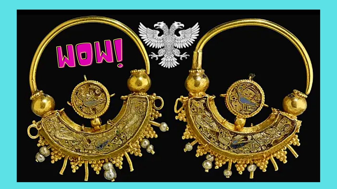 BRITISH MUSEUM, looted ancient GREEK JEWELRY from 300BC to 100BC (LONDON)