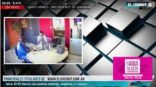 FM El Chubut 90.1 - Darío James (Intendente de Gaiman)