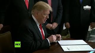 Trump firma el reconocimiento de la soberanía israelí sobre los Altos del Golán