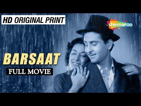 Barsaat (1949) | Raj Kapoor | Nargis | Prem Nath | Nimmi | K. N. Singh | Old Classic Movie