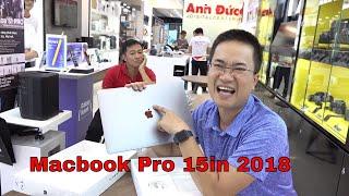 Mua Macbook Pro 15.4 inch 2018 giá 62tr về nghịch ▶ Unbox tận hưởng nha anh em!