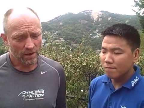 Steve Barrett & Sukhbaatar Sengedorj-AIA Mongolia