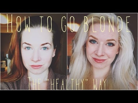 """How to go Blonde ❋ The """"Healthy"""" Way"""