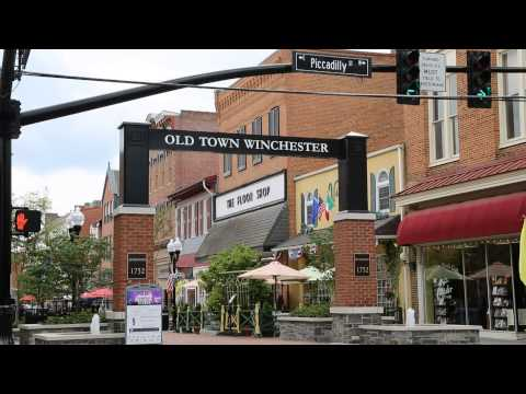 Downtown Winchester Virginia Promo Video