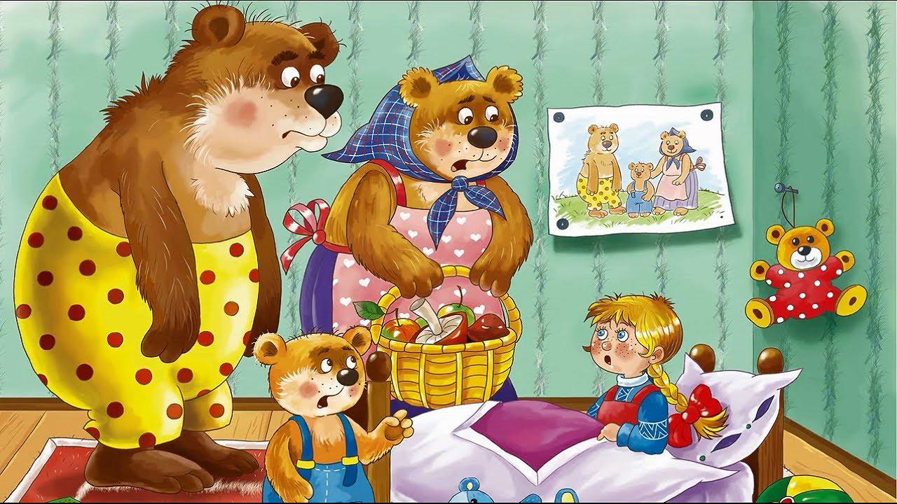интересна разрезная картинка маша и медведь работе