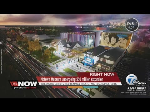 Major expansion planned for the Motown Museum