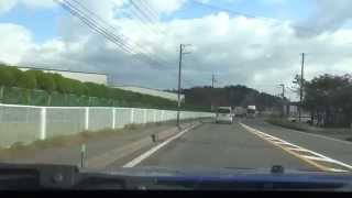 秋田市〜盛岡市 国道45号線+13号線(等倍速)
