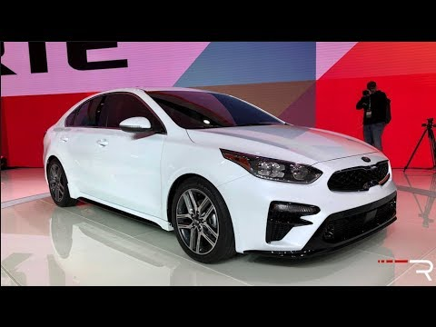 2019 Kia Forte Redline First Look 2018 NAIAS