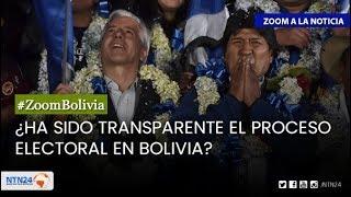 ¿Ha sido transparente el proceso electoral en Bolivia?