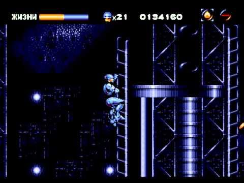 18+Прохождение игры Robocop Vs Terminator часть 3 с комментариями