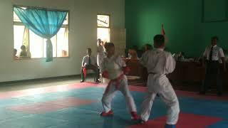 Kumite Putera Perebutan Juara III O2SN Tk. SMP Gunungkidul
