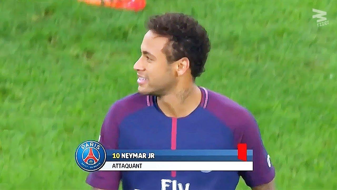 Neymar Jr All Red Cards In Career