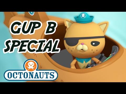 Octonauts - Gup B | 20+ minutes | Gups and Octonauts