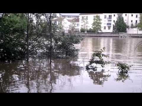 La Marne a débordée