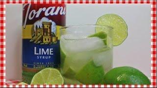 Brazilian Caipirinha Cocktail ~ Torani Friday ~ Noreen's Kitchen