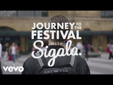 Sigala  Journey to the festival with Sigala  Sponsored  Mitchum