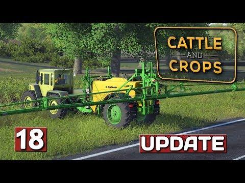 Druck auf dem Schlauch & Spritzen 🚜 Lets PlayTest Update #4 | Cattle And Crops UPDATE #15