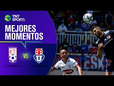 Deportes Melipilla 3 - 0 Universidad de Chile | Campeonato PlanVital 2021 - FECHA 28