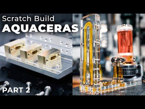 AQUACERAS Part 2 - Connecting Distro Plates Without Tubing | Bit-tech Modding