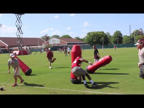 Alabama spring practice, day 14: Outside linebackers