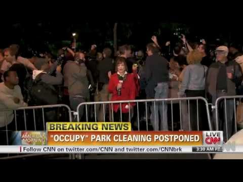 Occupy Wall Street: Zuccotti Park Cleaning Postponed