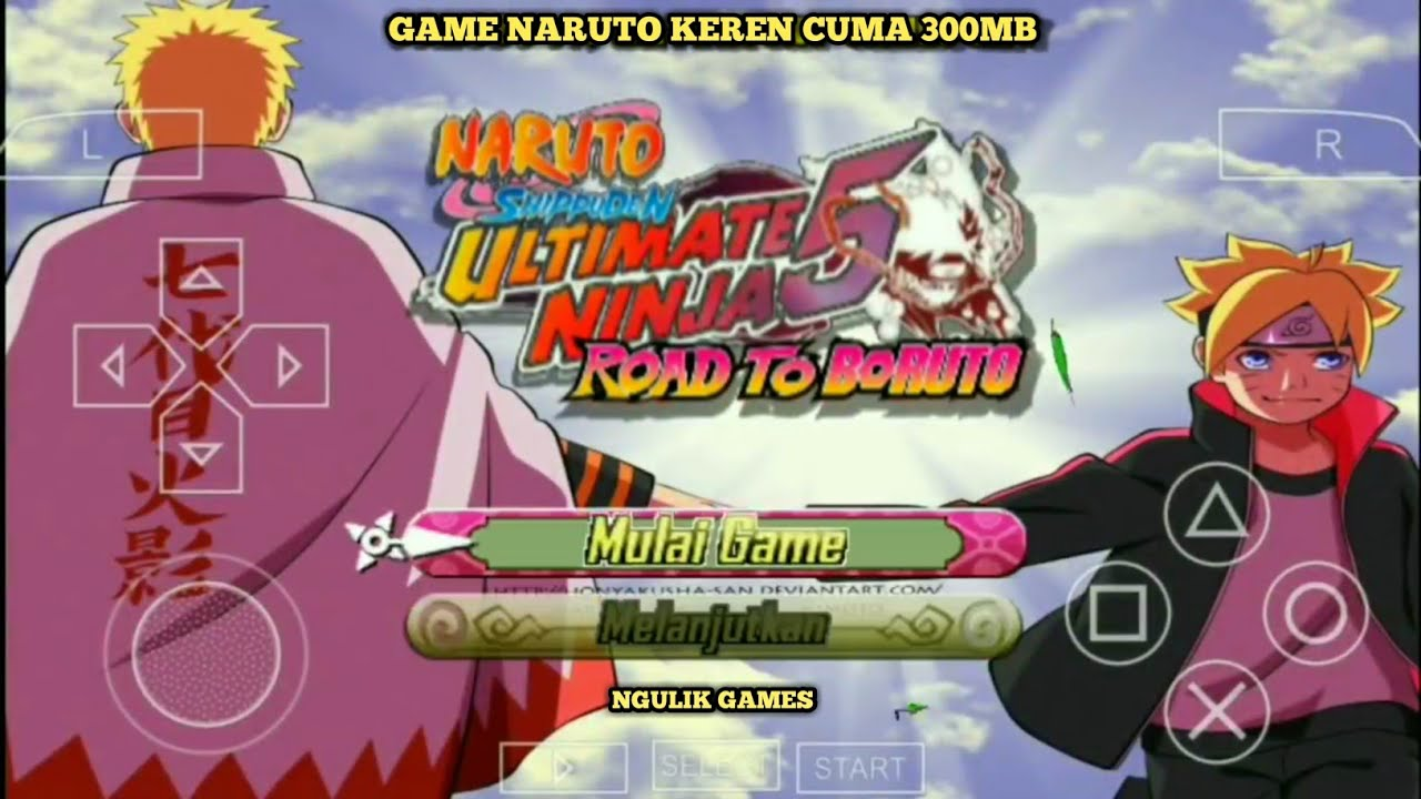 cara download game ppsspp naruto storm 5