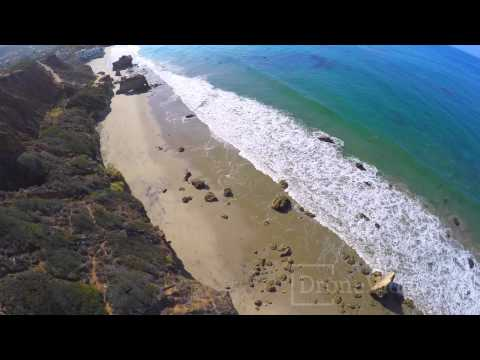 Drone Video - El Matador State Beach, Malibu CA